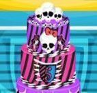 Decorar bolo Monster High