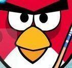 Angry Birds futebol de botão