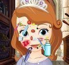 Princesa Sofia cuidados com o rosto