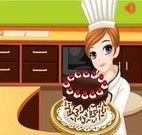 Fazer bolo de cereja com a Tessa