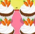 Fazer cupcakes de cenoura