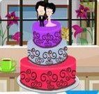 Fazer decoração do bolo de três camadas