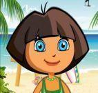 Fazer maquiagem da Dora