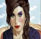 Fazer Maquiagem de verdade em Amy Winehouse