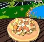 Fazer pizza de mussarela