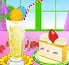 Fazer sorvete de frutas e chocolate