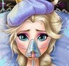 Elsa Frozen doente