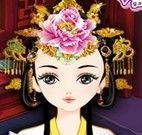 Vestir rainha chinesa