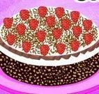 Fazer bolo chocolate com Cinderela
