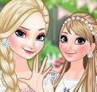 Frozen roupas e maquiagem festa de aniversário