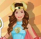 Estilista moda super herói meninas
