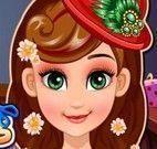 Frozen Anna cabeleireiro