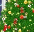 Enfeites da árvore de Natal