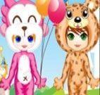 Festa a fantasia de criança