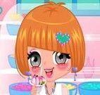 Garota na sorveteria