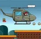 Helicóptero e Jipe do Mario