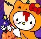 Hello Kitty no Halloween