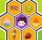 Jogo da memória dos doces