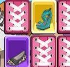 Jogo da memória dos sapatos