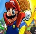 Jogo de basquete do Mario Bros