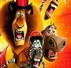 Jogo do Filme Madagascar 3 - Metralhadora de Bananas
