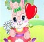 Jogos de vestir coelho