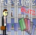 Josh andando no elevador
