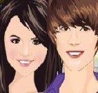Justin Bieber e sua Namorada Selena Gomez
