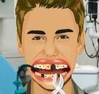 Justin Bieber no dentista