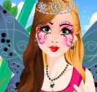 Limpeza facial na princesa fada