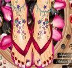 Lindos pés decorados