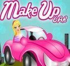 Maquiagem no carro andando