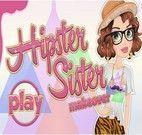 Maquiar irmã de Hipster