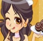 Menina do chocolate