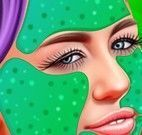 Miley Cyrus limpeza de pele