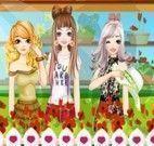 Moda de inverno das meninas