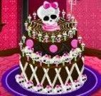Monster High decorar bolo especial