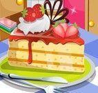 Morangos bolo