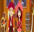 Namorar no navio pirata