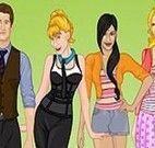 O elenco de Glee