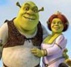 Pintar o cenário do Shrek e sua turma