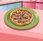 Pizza caseira da Sara