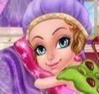 Princesinha no spa