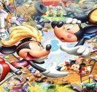 Quebra cabeça da Disney Minnie e Mickey