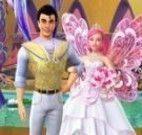Quebra cabeça família Barbie fada