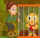 Resgatar garoto na floresta