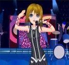 Roupas da menina do rock