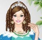 Roupas e maquiagem para Barbie princesa