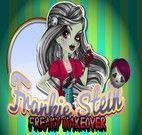 Salão de Beleza Monster High - Frankie Stein