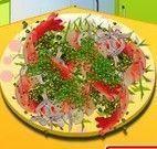 Sara salada de camarão